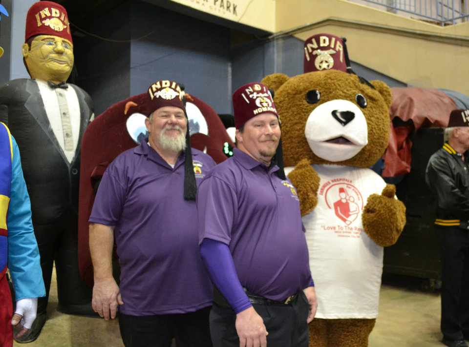Photo - The OKC India Shriners exist to  help children in need. Photo provided.