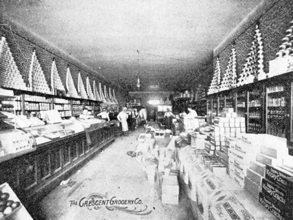 Crescent Market is shown in the early 1900s photo. <strong>Provided</strong>