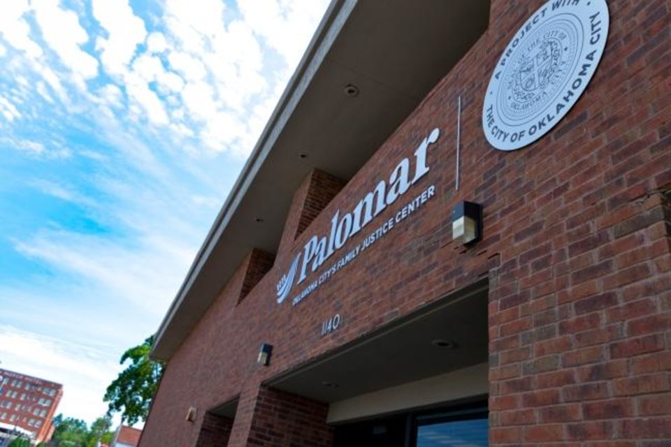 Photo -  Palomar, Oklahoma City's family justice center, is at 1140 N. Hudson. [Provided]