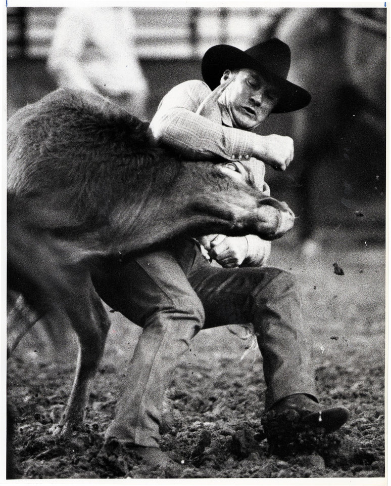 Photo - Checotah's Roy Duvall qualified for the National Finals Rodeo for 21 consecutive years. THE OKLAHOMAN ARCHIVE ORG XMIT: 0707302342473279