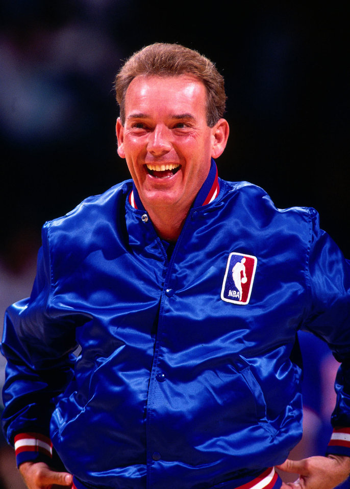Former NBA referee Woody Mayfield is a Southwestern State graduate who now lives in Norman.  PHOTO PROVIDED BY NBA
