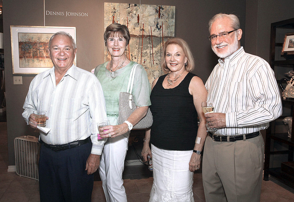 Photo - Mike and Vonda Henderson, Linda Howell, John Mee.