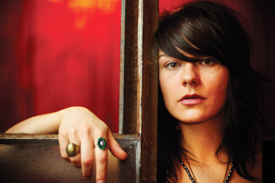Photo - Oklahoma singer/songwriter Ali Harter. Harter will have two of her songs used on the popular TV show,