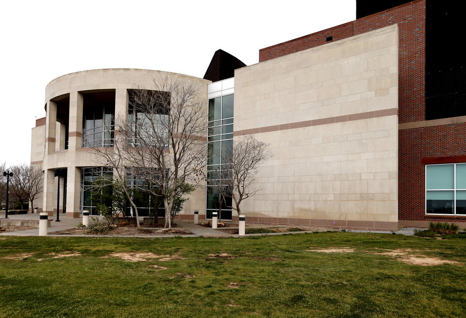 Photo - Exterior of the Sam Noble Museum of Natural History at the University of Oklahoma on Tuesday, April 9, 2013  in Norman, Okla. Photo by Steve Sisney, The Oklahoman