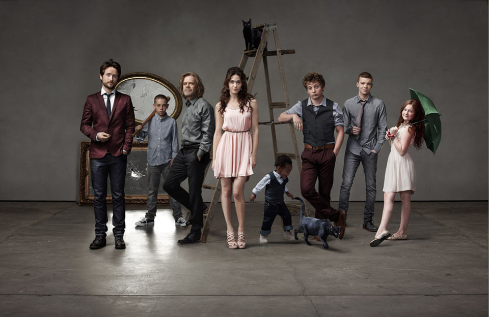 "Photo -  The cast of ""Shameless"" - Showtime Photo"