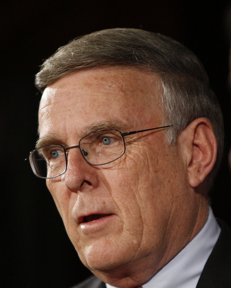 Sen. Byron Dorgan, D-N.D. AP Photo