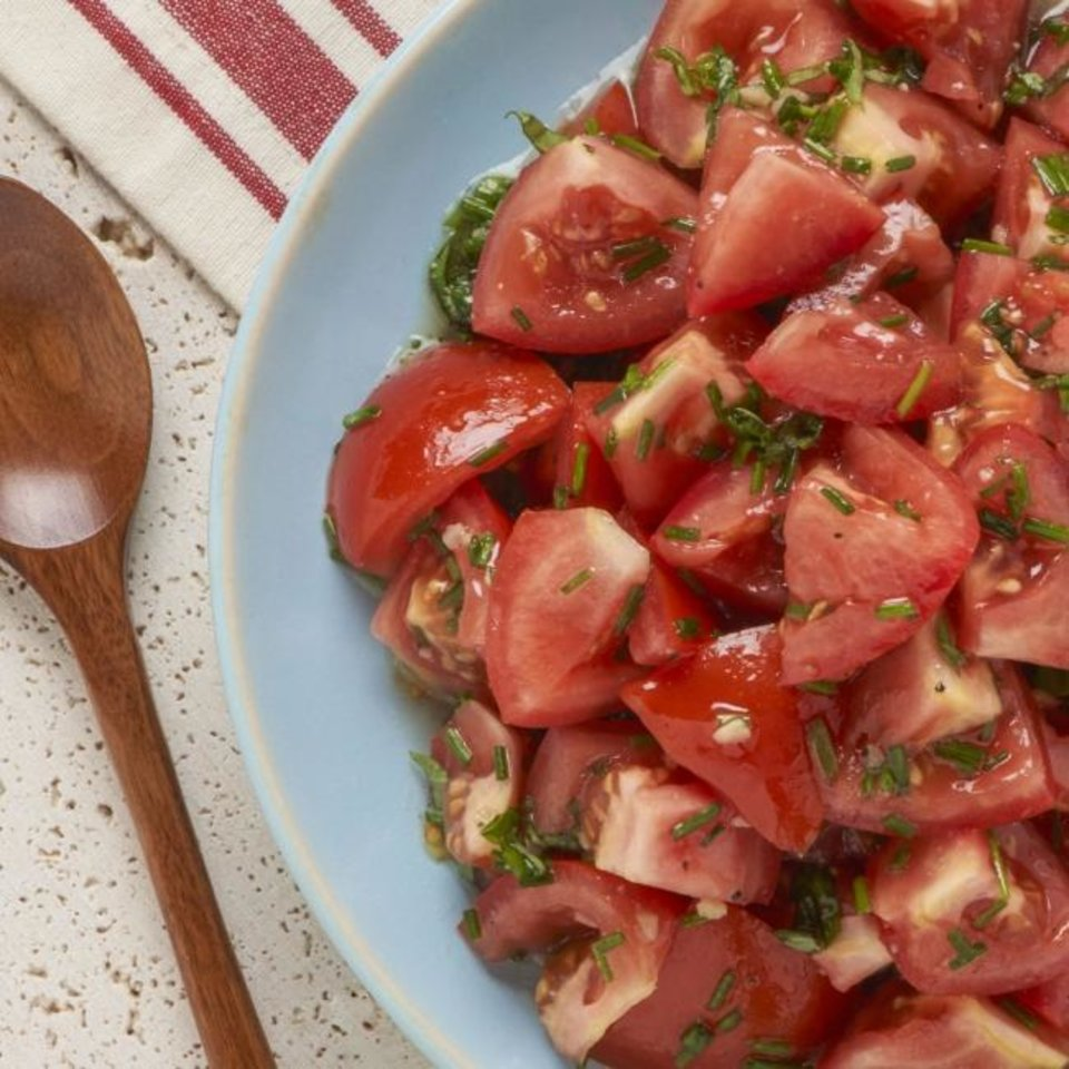 Photo -  Fresh tomato salad is a popular option from garden produce during the summer. [Photo provided.]