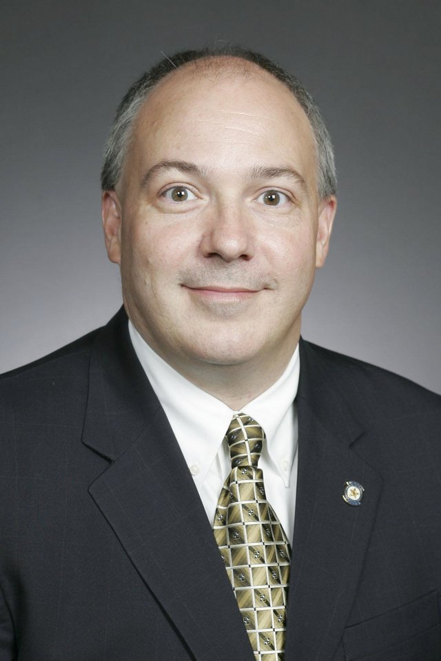 Photo - CANDIDATE: **USE THIS ONE**   Rep. Randy Terrill, R-Moore, represents District 53 in the Oklahoma House ORG XMIT: KOD