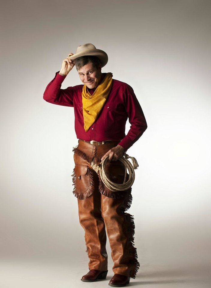 Photo - Tom Huston Orr as Will Rogers in