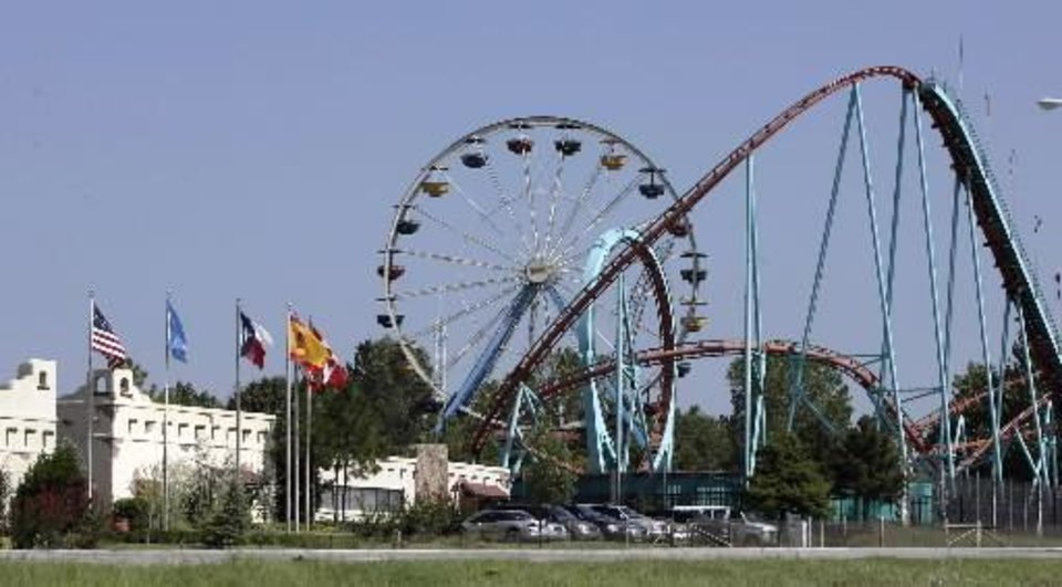 Frontier  City  amusement  park in Oklahoma  City, Aug. 25, 2005. AP Photo
