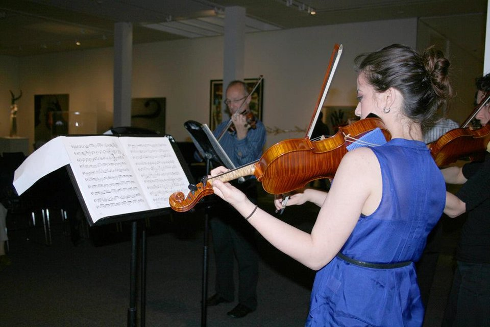 Students and faculty from the OU School of Music will offer concerts at noonTuesdays.   Photo provided