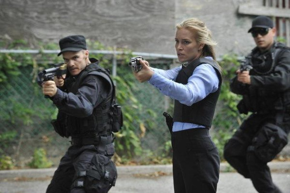 """Photo -  COVERT AFFAIRS -- Episode 308 """"Glass Spider"""" -- Pictured: Piper Perabo as Annie Walker -- (Photo by: Steve Wilkie/USA Network)"""