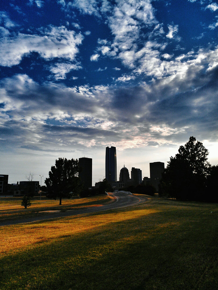 OKC Skyline. Photo by Kerwin Moore