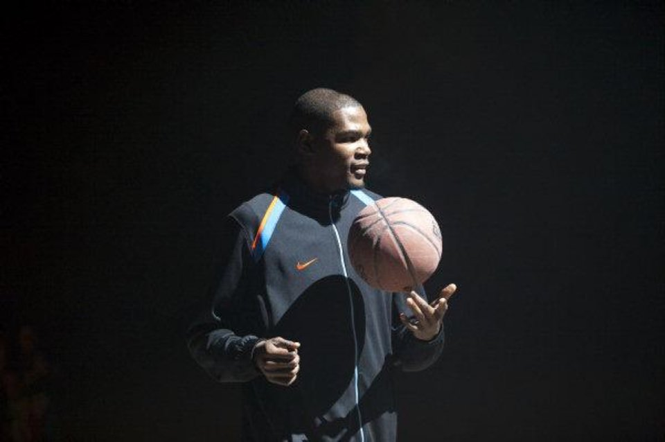 Photo - A screen shot from Kevin Durant's new Nike commercial. PHOTO PROVIDED