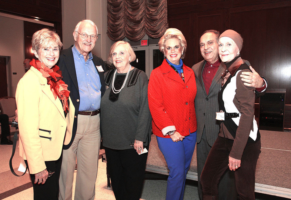 Photo - Carol and Gary Sander, Carolyn Roslik, Patsy Homsey, J.R. Homsey, Jo Rowan.