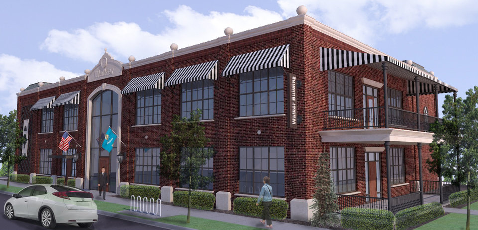 Inspired by development of housing, shops and restaurants along Walker Avenue in Midtown, contractor Michael Nichols is preparing to start construction this summer on a two-story office building at NW 12 and Walker. Photo provided  <strong> -  Provided </strong>