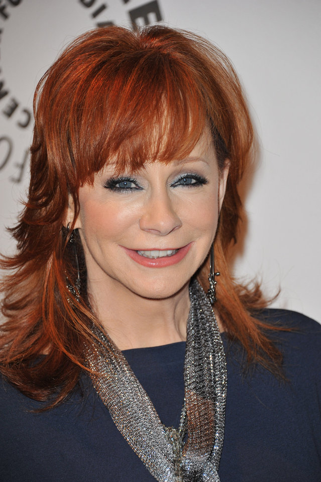Singer and actress Reba McEntire  AP PHOTO <strong>Richard Shotwell</strong>