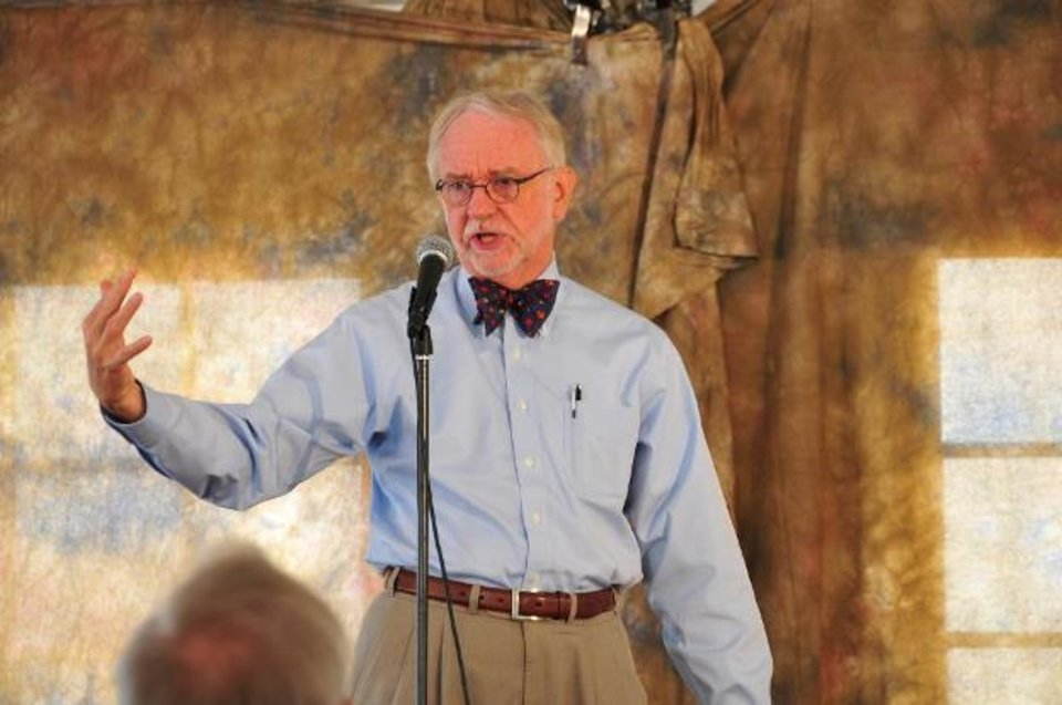 Photo -  Donald Davis is among the featured tellers at the 34th annual Oklahoma City Storytelling Festival. Photo provided