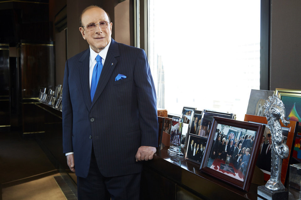This Feb. 18, 2013 photo shows Sony Music Entertainment\'s Chief Creative Officer of and famous hitmaker Clive Davis posing for a portrait in New York. Davis\' releases his memoir