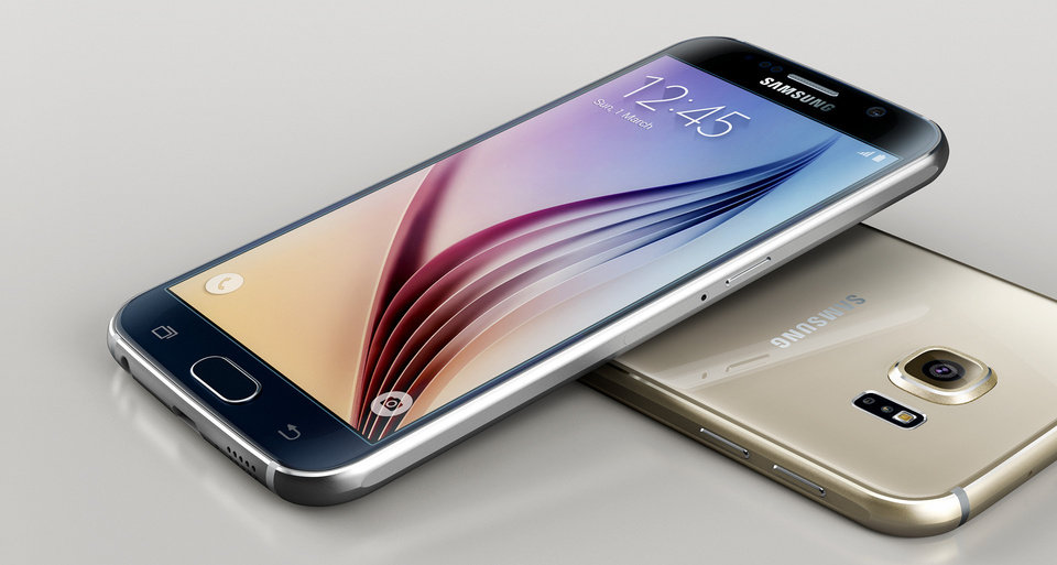 Photo -  The Samsung Galaxy S6 is shown. Photo provided