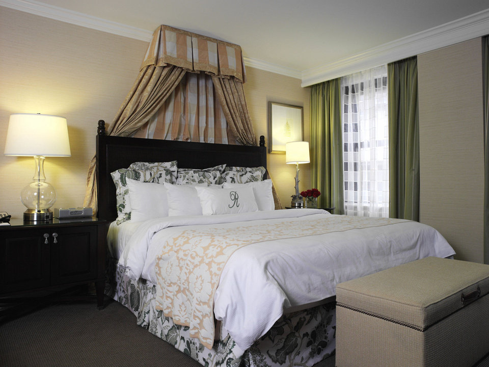 Photo - Sleeping quarters inside a suite at the Raphael Hotel in Kansas City.  Brian Puyear - PROVIDED