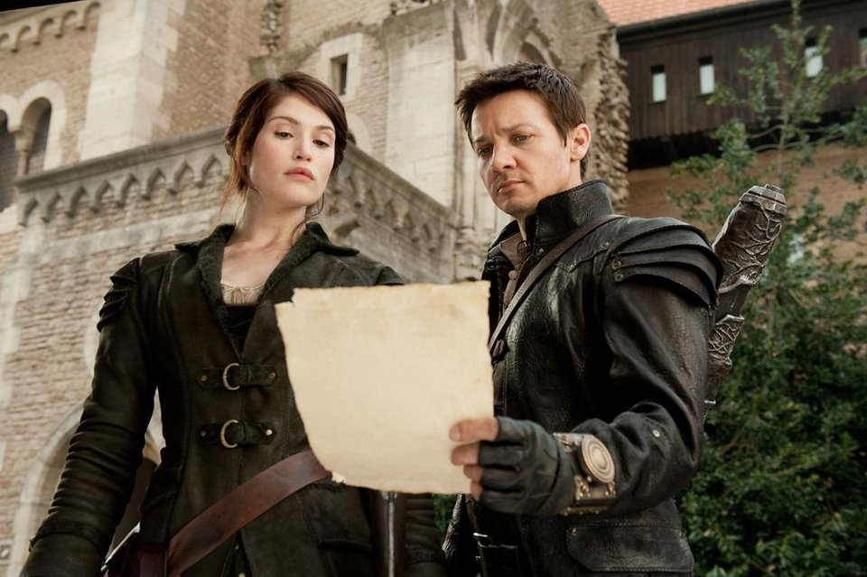 "Jeremy Renner and Gemma Arterton star in ""Hansel & Gretel: Witch Hunters."" Paramount Pictures photo <strong></strong>"