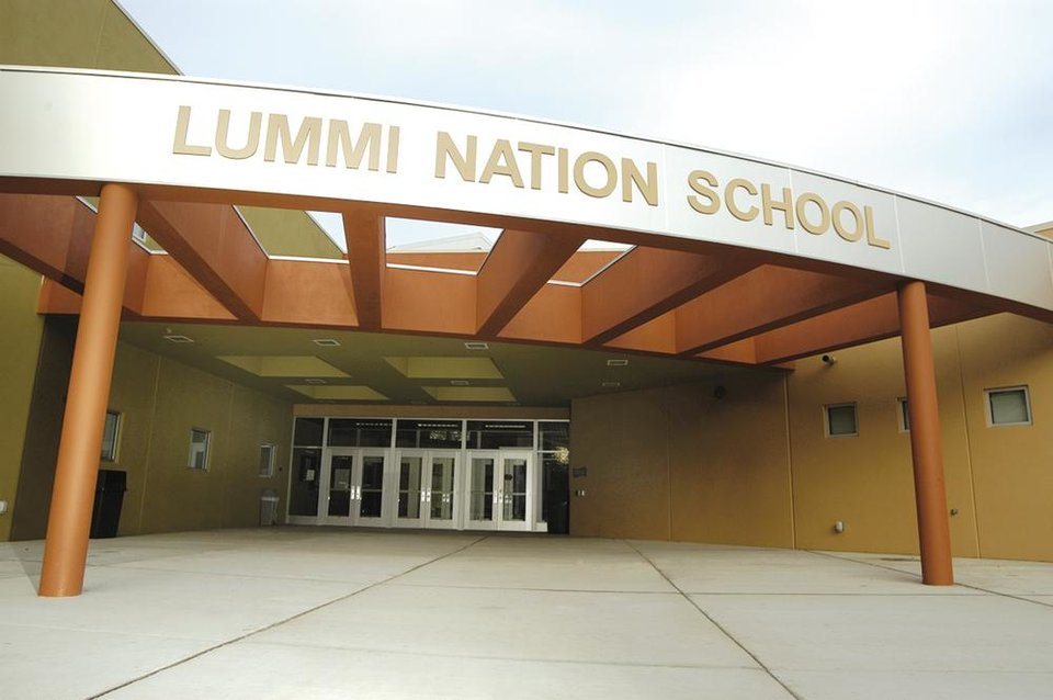 Photo - Getting the Lummi Nation School just right was tricky. In addition to the lay of the land, Flintco Inc. had to maneuver a sensitive cultural landscape in designing the school.	PROVIDED BY FLINTCO INC.	ORG XMIT: 0802222248548689