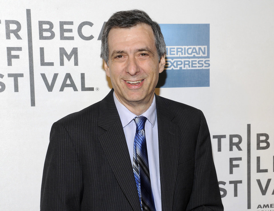 "FILE - This April 25, 2012 file photo shows journalist Howard Kurtz at the world premiere of ""Knife Fight"" during the 2012 Tribeca Film Festival in New York. Kurtz is apologizing for several errors in a column he wrote about gay basketball player Jason Collins this past week. Kurtz, host of CNN�s �Reliable Sources,� brought two other media critics onto his show Sunday, May 5, 2013, to question him about the story written on The Daily Beast suggesting Collins had hidden a previous engagement to a woman when he came out as gay in a Sports Illustrated story. Kurtz said he was not only wrong in the facts, he shouldn�t have written the story in the first place and was too slow to correct himself. (AP Photo/Evan Agostini, File)"