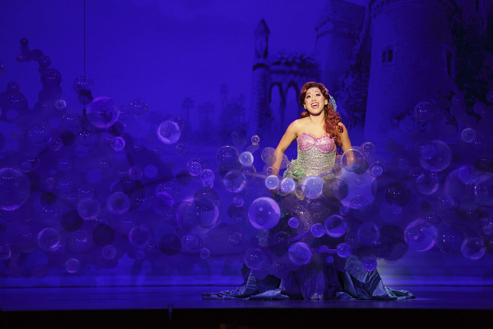 Photo -  Diana Huey appears in a performance of Disney's
