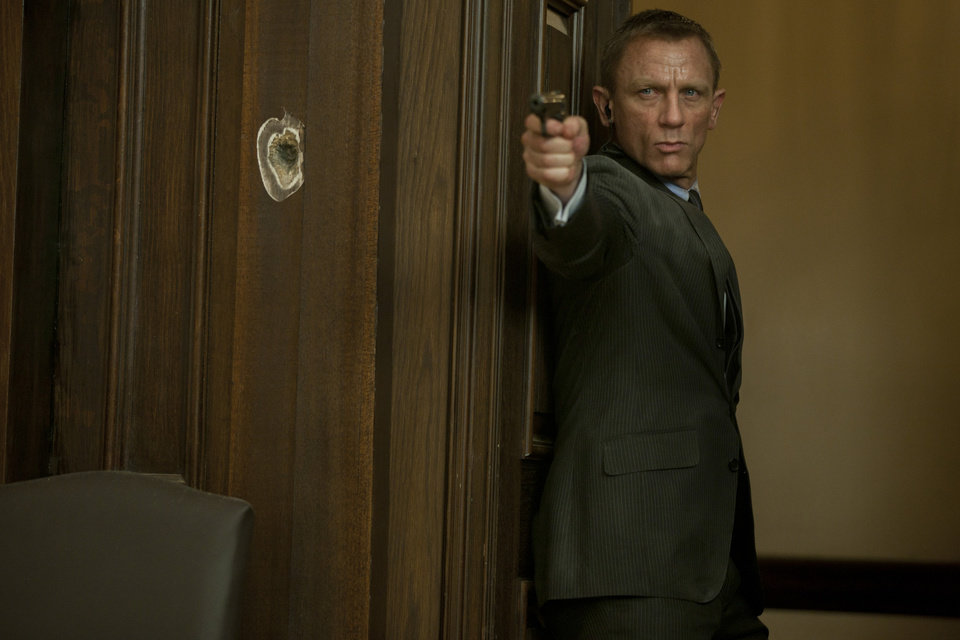 "Daniel Craig stars as James Bond in Metro-Goldwyn-Mayer Pictures/Columbia Pictures/EON Productions' action adventure ""Skyfall."" (Francois Duhamel/Courtesy Columbia Pictures/MCT)"