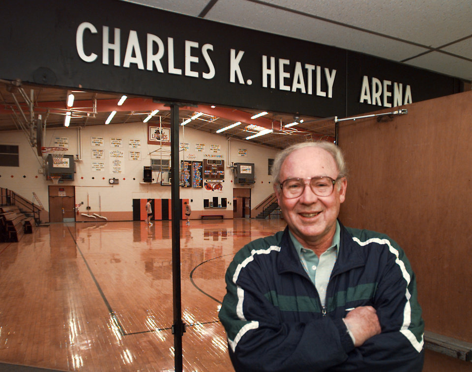 Photo - Lindsay High School girls basketball coach Charles Heatly.