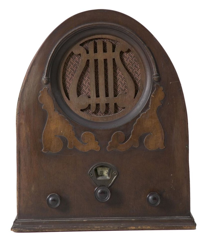 Photo - Old-fashioned, vintage, antique radio   ORG XMIT: 0902031514269579