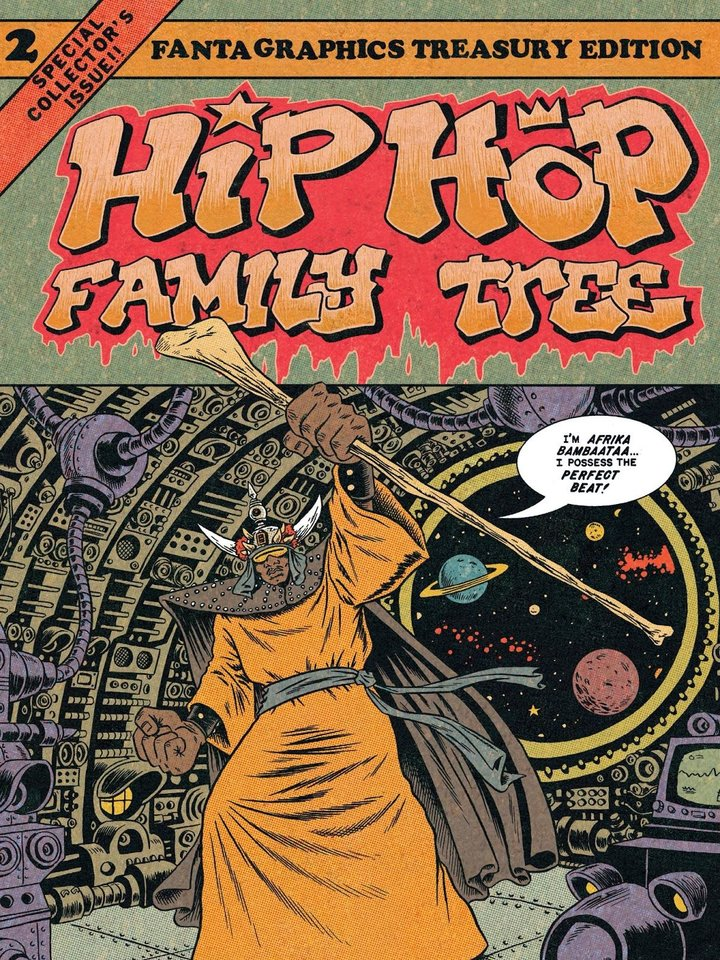 "Photo -  ""Hip Hop Family Tree Vol. 2: 1981-1983"" (Fantagraphics)"