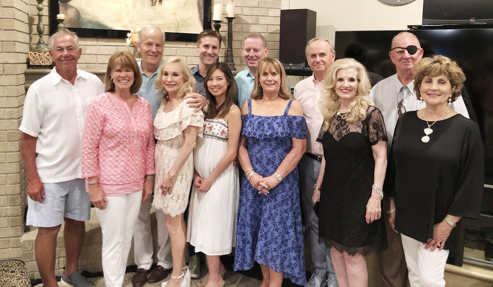 Photo - Ray and Pat Broadfoot, Roger and Karen Dahlgren, Ryan and Annie Dahlgren, Pat and Terri Hare, Carroll and Karen Mayfield, Barry and Joyce Bollenbach. PHOTO PROVIDED