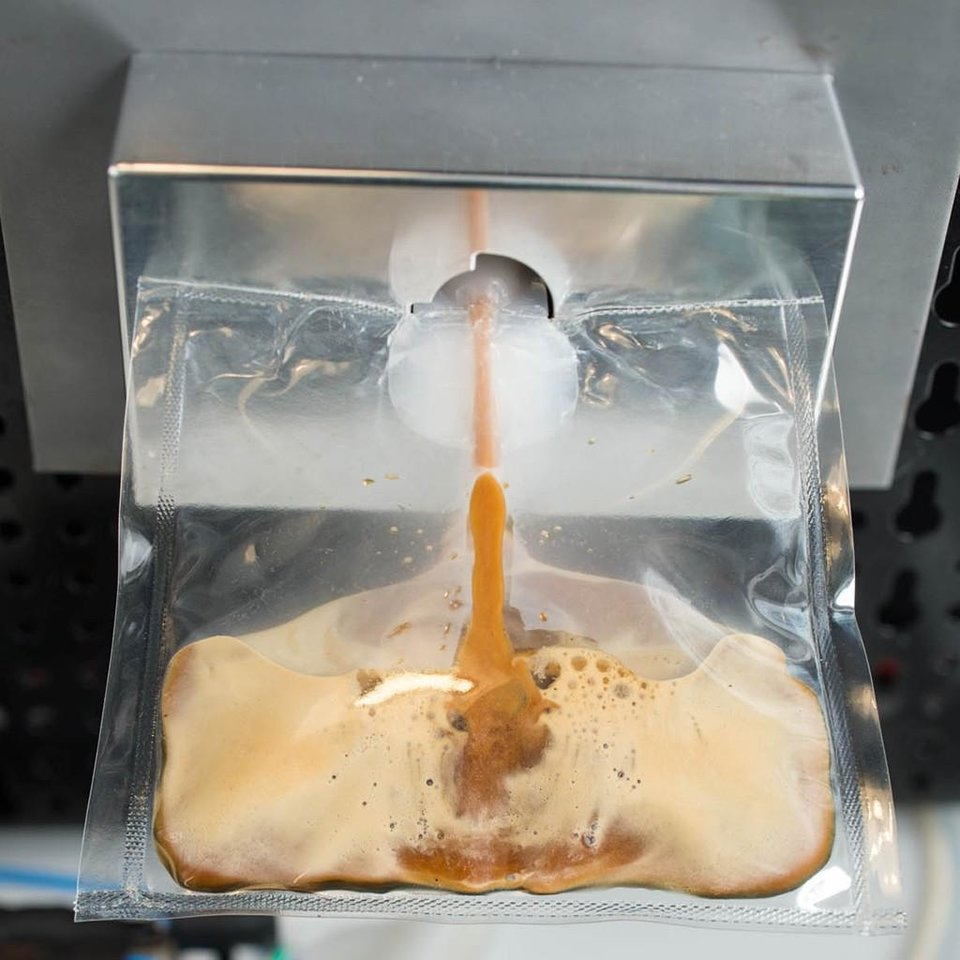 Photo - This undated product image provided by Lavazza, shows a prototype of Lavazza's and Argotec's