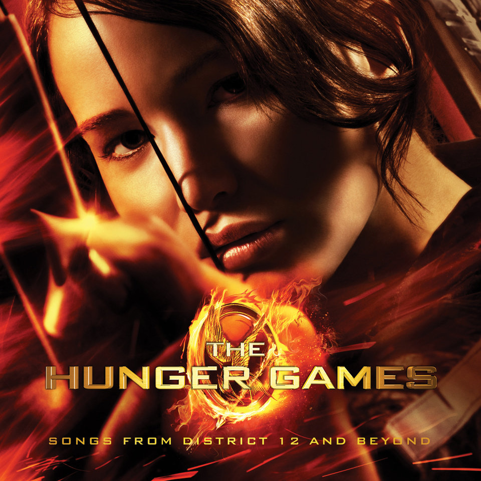 "In this CD cover image released by Universal Republic Records, the soundtrack for the film ""The Hunger Games,"" is shown. (AP Photo/Universal Republic Records)"