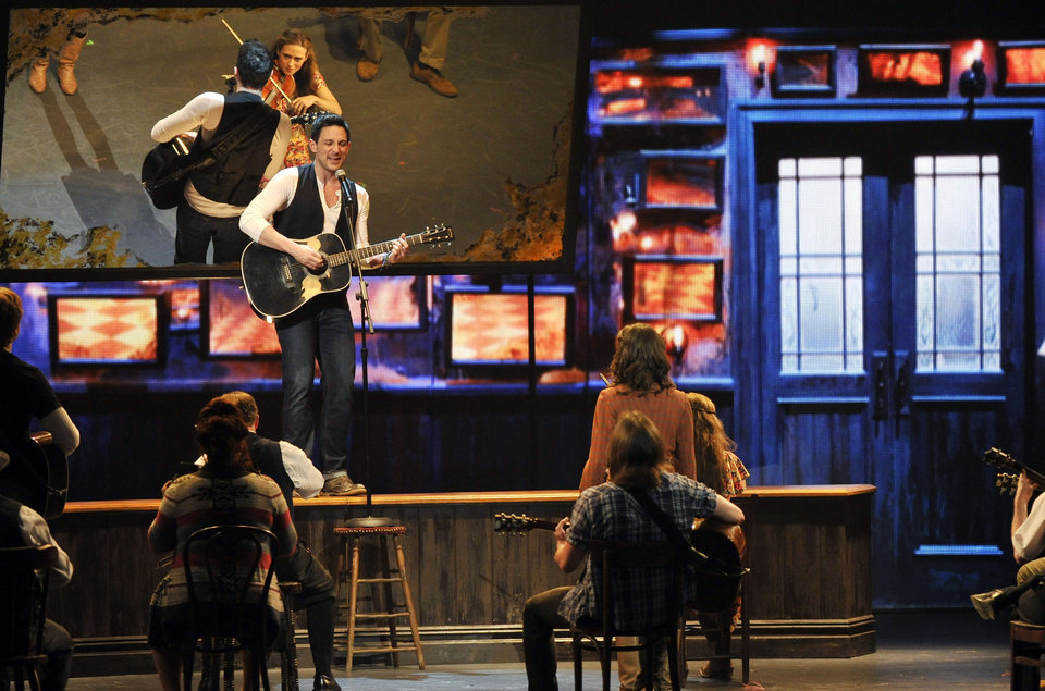 Photo -   Steve Kazee performs in a scene from