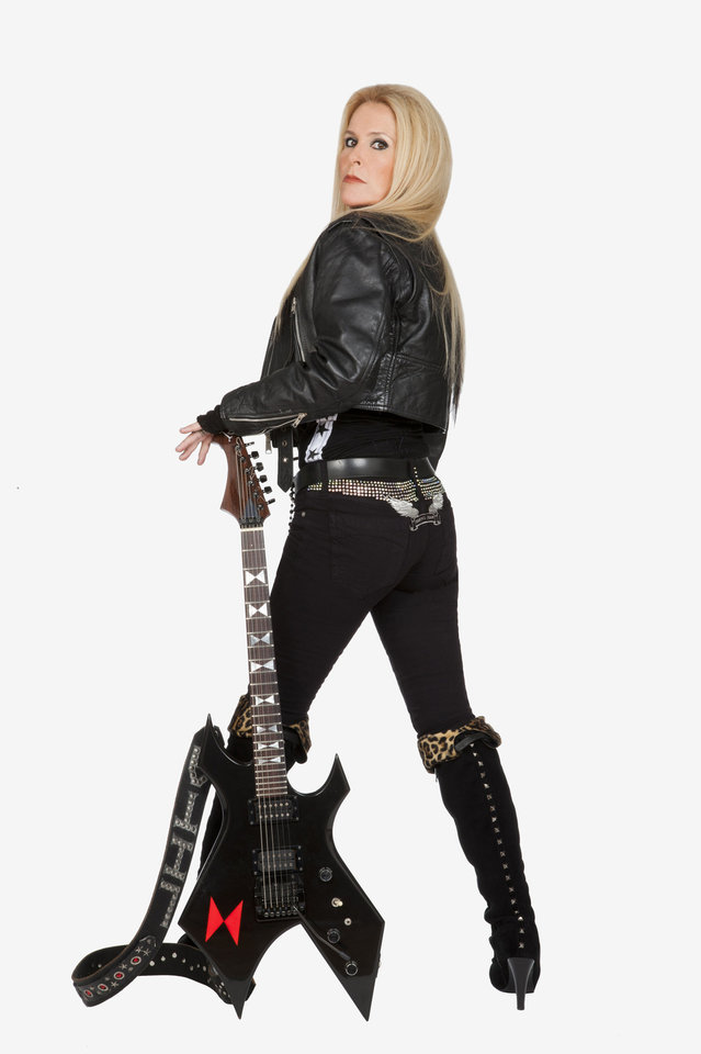 Lita Ford. PHOTO PROVIDED <strong></strong>
