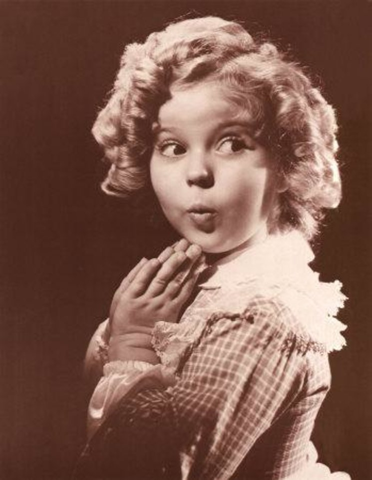 Photo -  Shirley Temple Black
