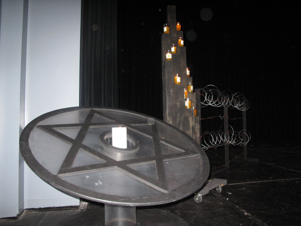 A candle lighting ceremony was part of the 2013 Holocaust Remembrance Program Sunday at Bethany High School. Photo by Carla Hinton <strong></strong>