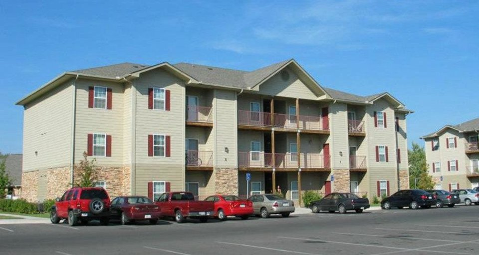 Photo - The Reserve on Stinson Apartments, 730 Stinson in Norman, sold for $68.8 million, or $112,488 per unit, earlier this year. PHOTO PROVIDED BY CRRC