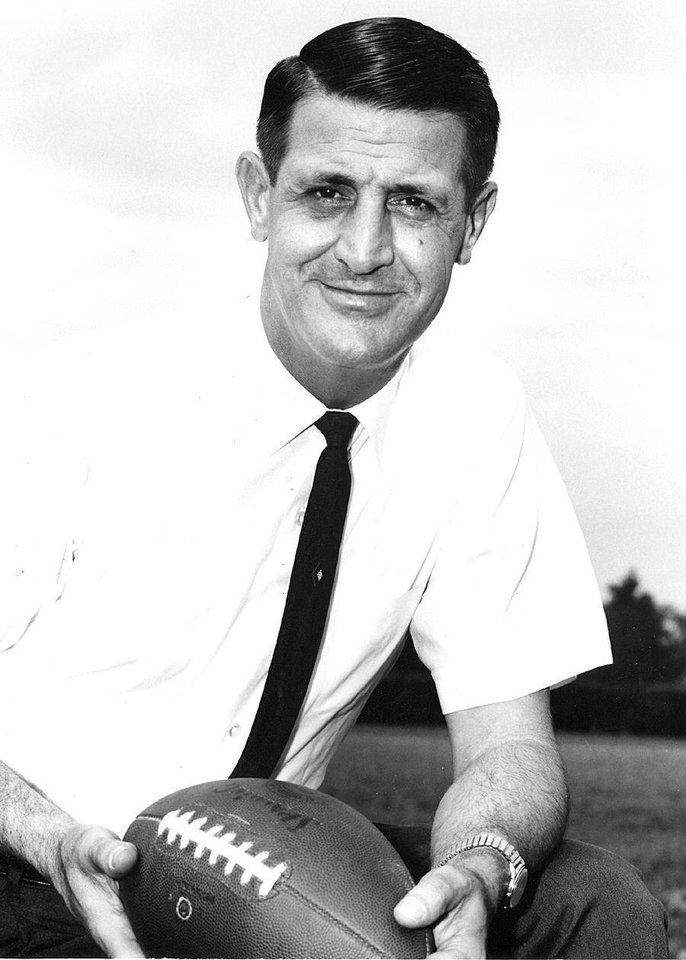 Phil Cutchin was hired by OSU to revive the Cowboy football program, and beat Oklahoma in 1965 and 1966. PHOTO PROVIDED <strong>PROVIDED</strong>
