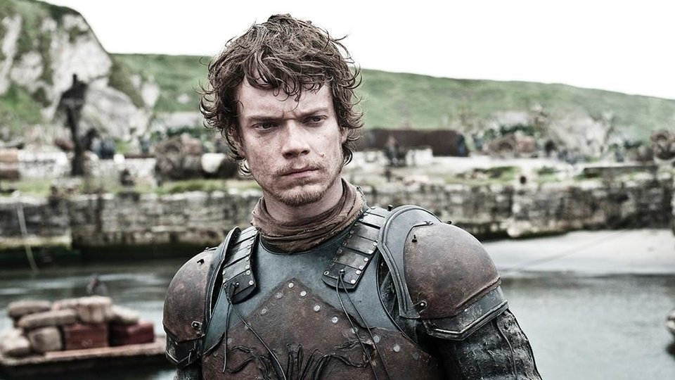 Photo -  Theon Greyjoy, my what you have become.