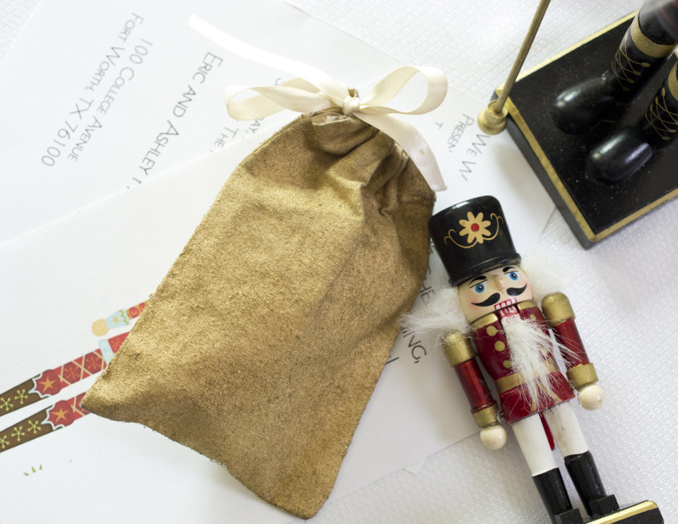 For holiday entertaining try a Nutcracker theme serving with ornaments relating to the ballet. (Ross Hailey/Fort Worth Star-Telegram/MCT)