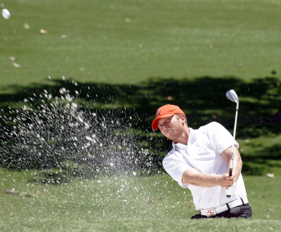 Photo - Taylor Gooch in the finals of the state amateur golf tournament on Wednesday, July 24, 2013. Photo by Aliki Dyer/ The Oklahoman