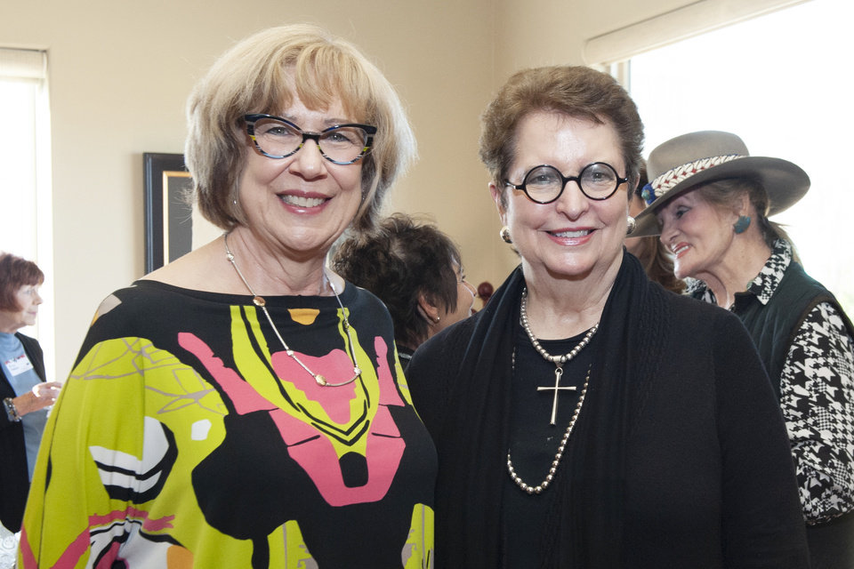 Photo - Chief Justice Noma Gurich, Justice Yvonne Kauger. PHOTO PROVIDED