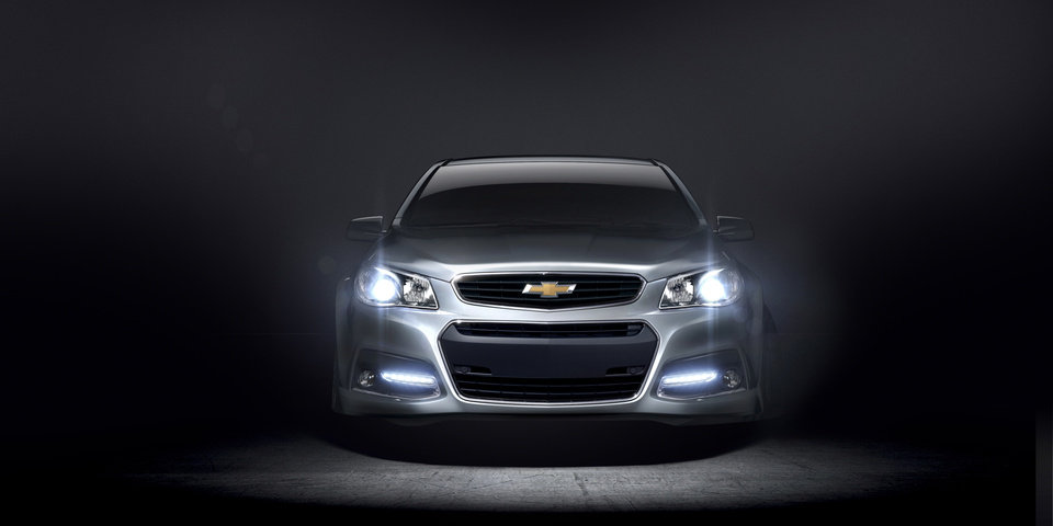This undated photo provided by Chevrolet shows the 2014 Chevrolet SS performance sedan. It is the company\'s first rear wheel drive performance sedan in 17 years. The SS will also be Chevrolet's racing car entry in the 2013 NASCAR Sprint Cup series. (AP Photo/Chevrolet)