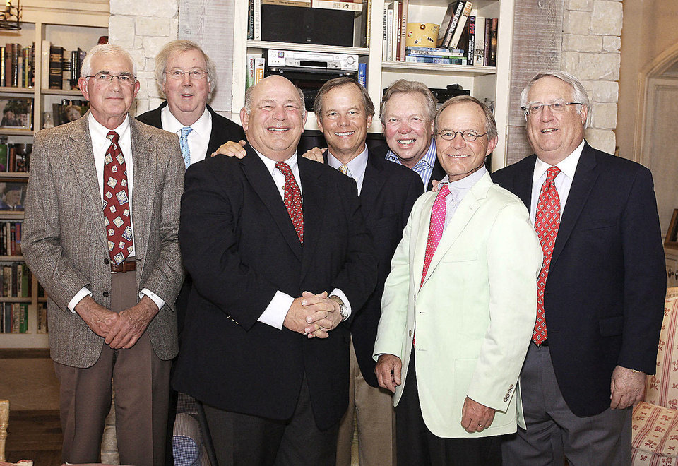 Photo - Richard Parker, Morton Payne, Steve Parker, Pete  Everest, Chuck Ainsworth, Jim Everest, Drew Neville.