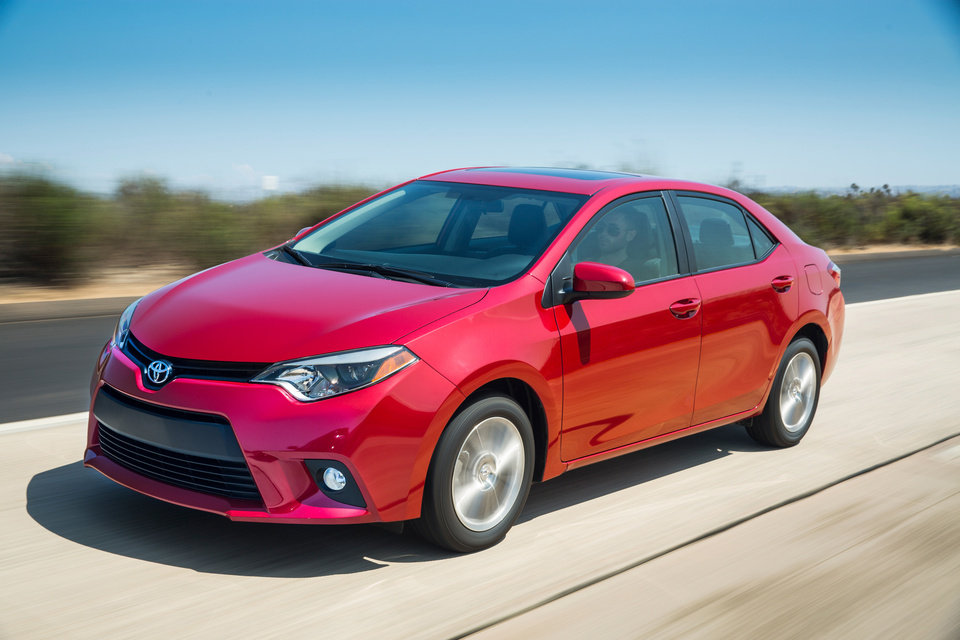 Photo - This undated image made available by Toyota shows the 2014 Toyota Corolla LE. (AP Photo/Toyota)