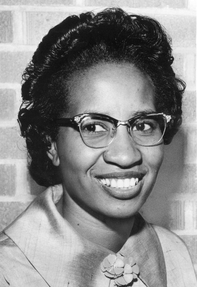 Photo - Clara Luper, civil rights activist  8/28/58